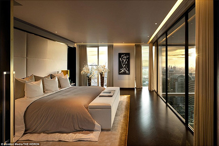 The Luxury Penthouses Perched On The 36th Floor Of London