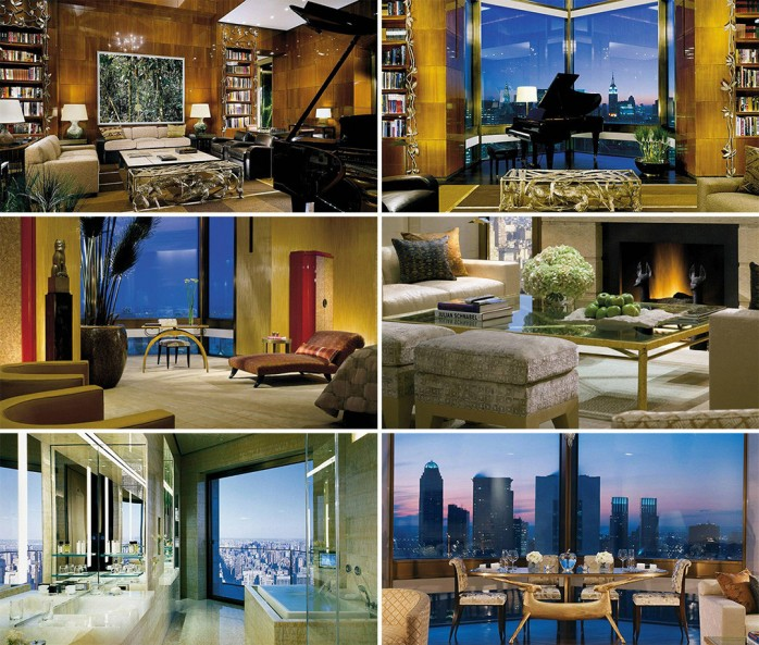 Inside the most expensive hotel room in new york city ty for Most expensive penthouse in nyc