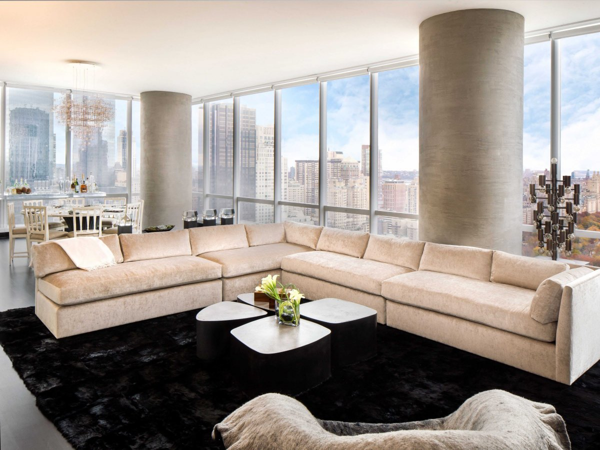 Inside one57 where new york s most expensive penthouse just sold for a record breaking 100 - Decoration interieur new york ...