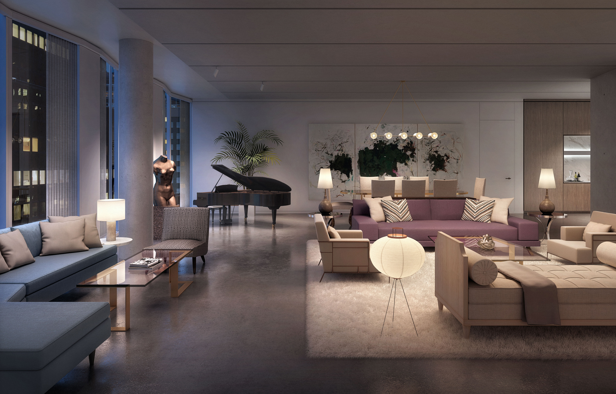 Penthouse In Aby Rosen S Midtown New York Project Seeks