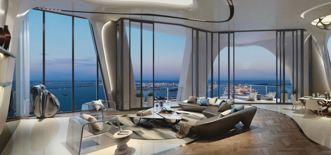 The 1000 Museum In Miami A Spectacular Residential