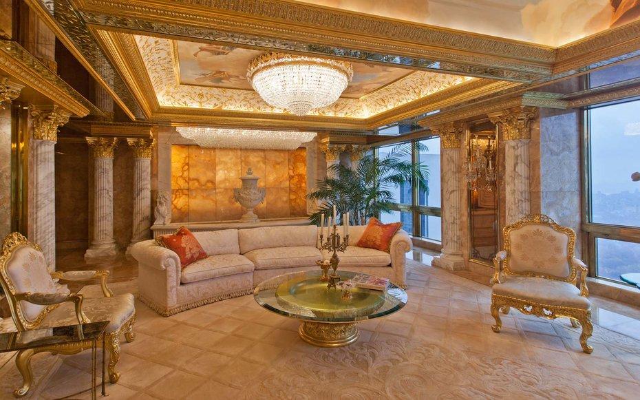 inside donald trump s new york city penthouse majestic
