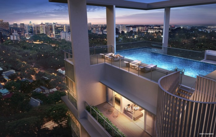 Treasure-on-Balmoral-Penthouse-Pool
